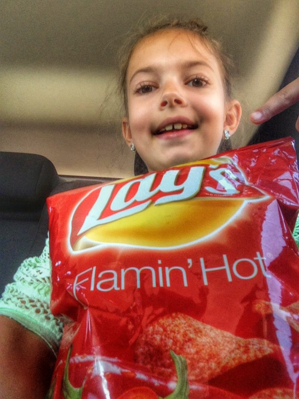Lay's Flamin Hot Chips