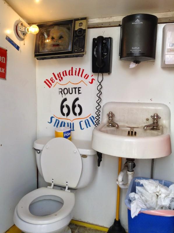 Amerika toilet route 66