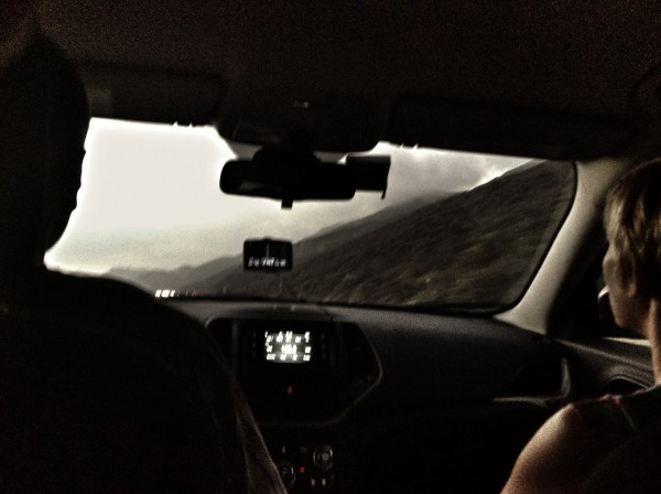 Highway 1 met auto