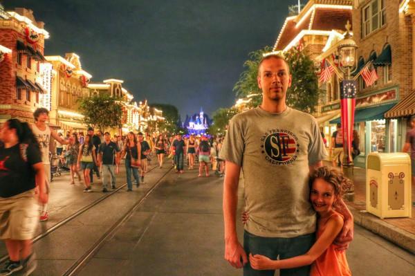 Mainstreet Disneyland Anaheim