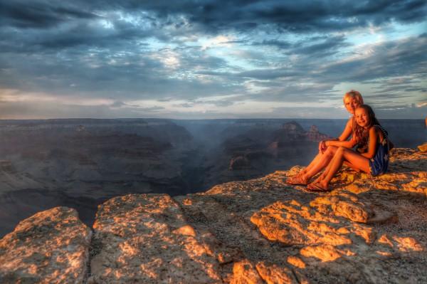 Met kinderen naar Amerika - Grand Canyon