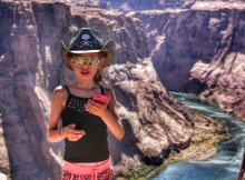Met kinderen naar Amerika Horseshoe Bend