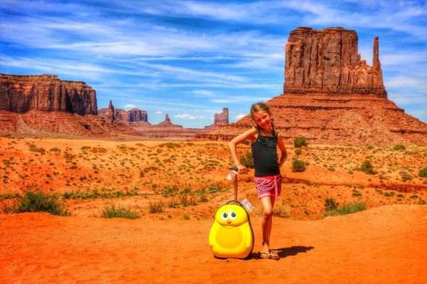Monument Valley - USA met kinderen