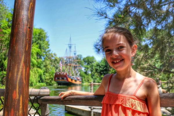 Piratenboot Disneyland