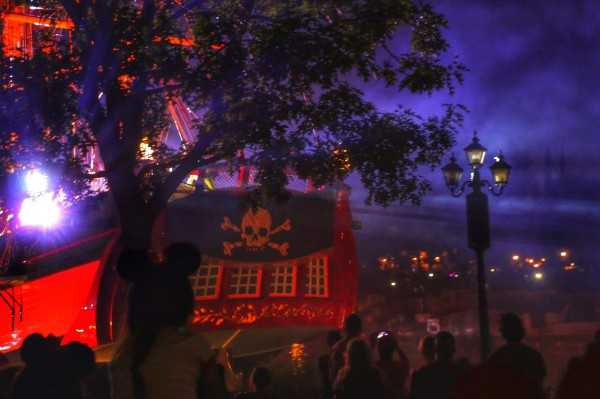 Piratenboot show Disneyland