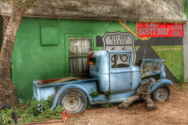 Route 66 pickup