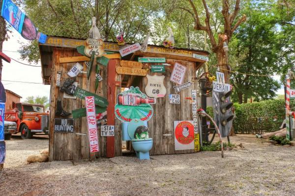 Route 66 toilet