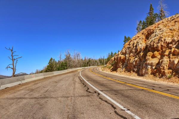Route van Cedar City naar Bryce Canyon