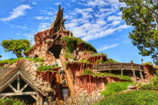 Splash Mountain Disneyland Anaheim