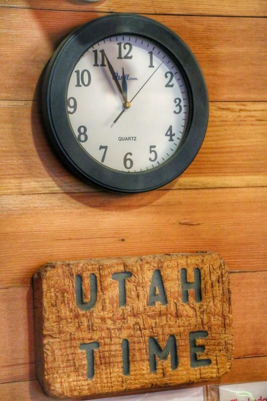 Utah Time