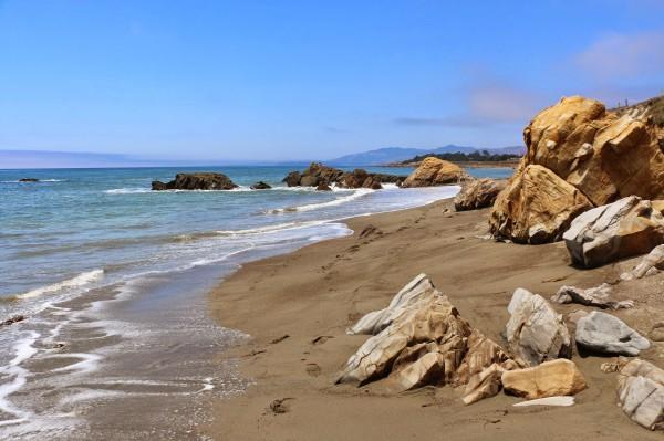 Moonstone Beach stenen