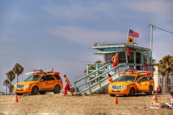 Venice Beach redders
