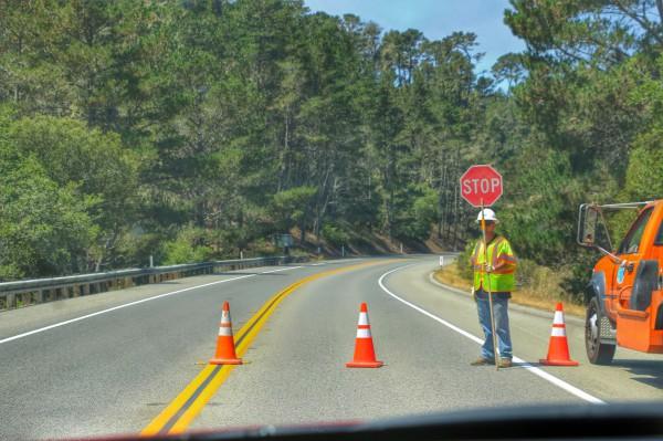 Wegwerkzaamheden Highway 1 One