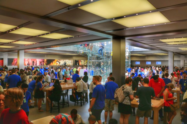 Apple Store New York foto