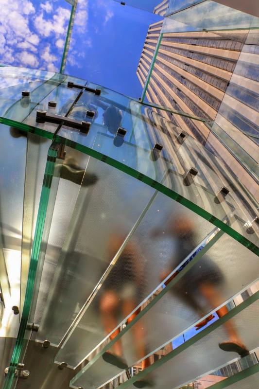 Glazen trap Apple Store