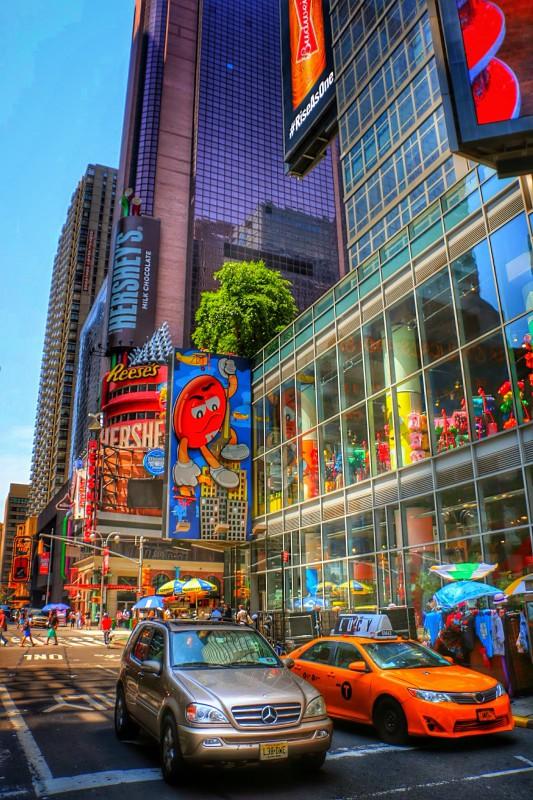 M&M World New York locatie