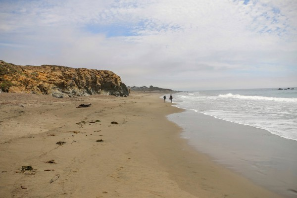 Westkust Amerika Cambria Moonstone Beach (1)