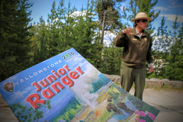 Ranger talk Yellowstone