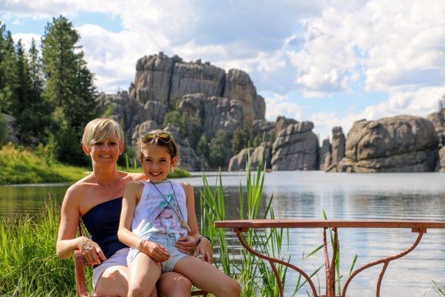 Sylvan Lake - genieten van het uitzicht op een terrasje
