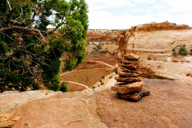 Shafer Canyon Canyonlands National Park
