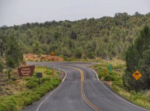 Kaibab National Forest route 64