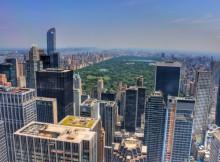 Top Of The Rock observation Deck Rockefeller Center NY
