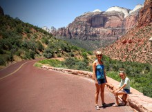 Zion National Park route